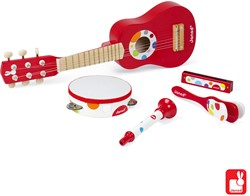 Janod Confetti - setmuziekinstrumenten rood