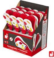 Janod Confetti - castagnette in display (12)