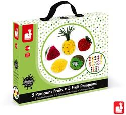 Janod Atelier - pompoms fruit