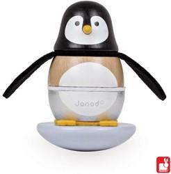 Janod houten stapelfiguur Stapeltuimelaar pinguin