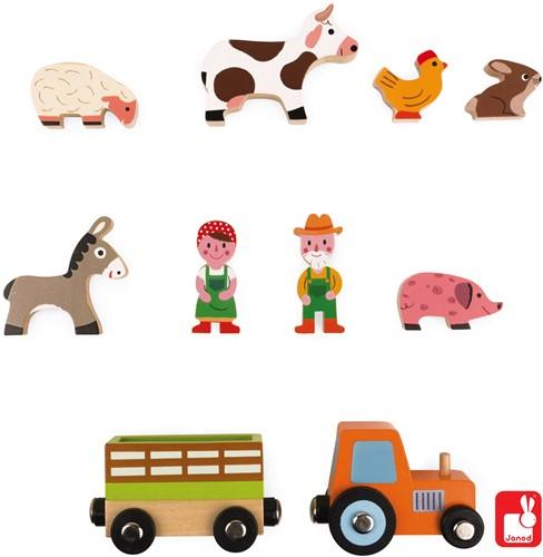 Janod Story Mini - boerderij-3