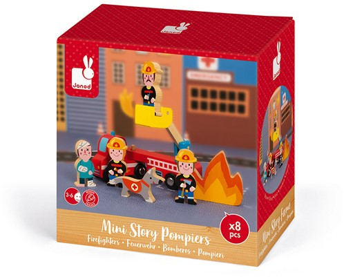 Mini Story Brandweermannen