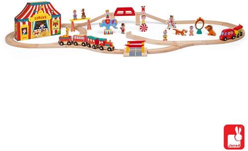Janod Story Express - circus met rails