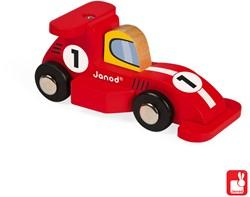 Janod Story Racing - formule 1 (3 rood en 3 zilver)