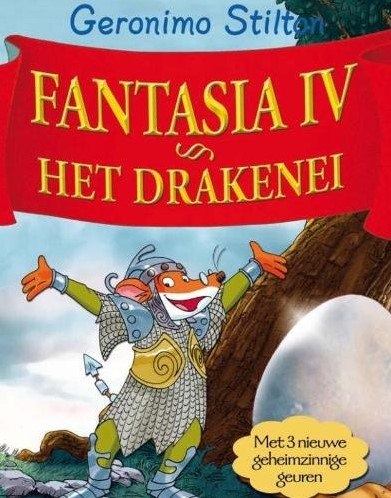 Kinderboeken  Geronimo Stilton leesboek Fantasia IV