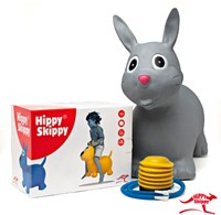 Hippy Skippy - Konijn grijs-3