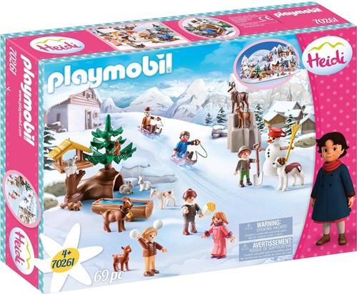 Playmobil Heidi - Heidi's winterwereld  70261