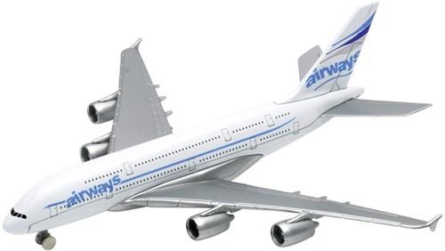 Goki Airplane, die-cast, L= 14,5cm (1 stuk)