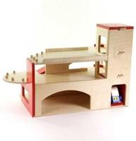 Van Dijk Toys  speelstad gebouw Garage met lift-3