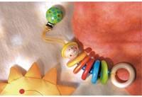 Haba  box en maxi cosi speelgoed Hangfiguur Max 1223-2