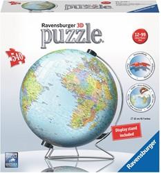 Ravensburger 3D puzzel de aarde Engelstalig - 3D Puzzel - 540 stukjes
