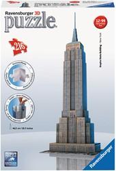 Ravensburger Empire State Building - 3D puzzel gebouw - 216 stukjes