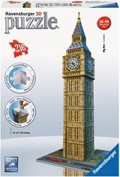 Ravensburger Big Ben - 3D puzzel gebouw - 216 stukjes