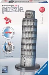 Ravensburger Toren van Pisa - 3D puzzel gebouw - 216 stukjes