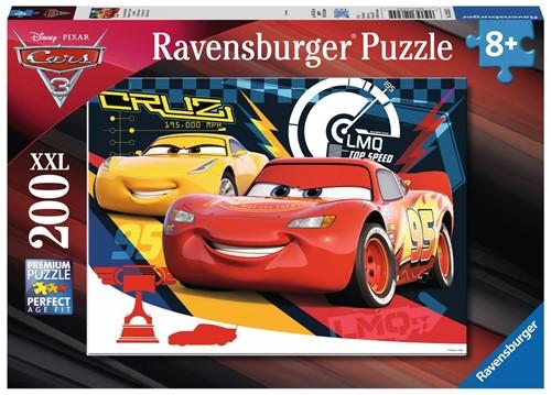 Ravensburger puzzel Cars 3 Piepende banden - legpuzzel - 200 stukjes