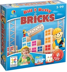 Smart Games  puzzelspel Bill & Betty Bricks