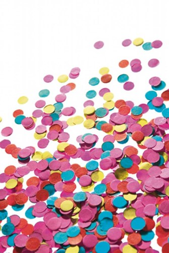 Planet Happy  verkleedspullen confetti zak 100 gram