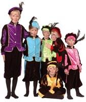 Planet Happy  verkleedspullen Zwarte Pieten pak 4 - 6 jaar