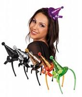 Planet Happy  verkleedspullen Tiara mini heksenhoed glitter