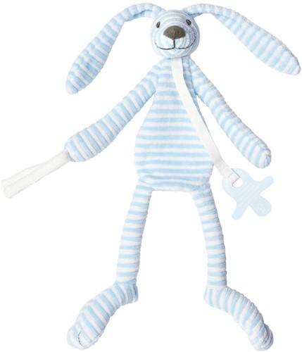 Happy Horse knuffeldoekje Blauw Konijn Reece - 30 cm