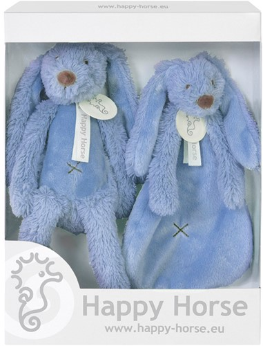 Happy Horse cadeauset Donker Blauw Konijn Richie - 33 cm