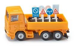 Siku Vrachtwagen met verkeersborden 1322