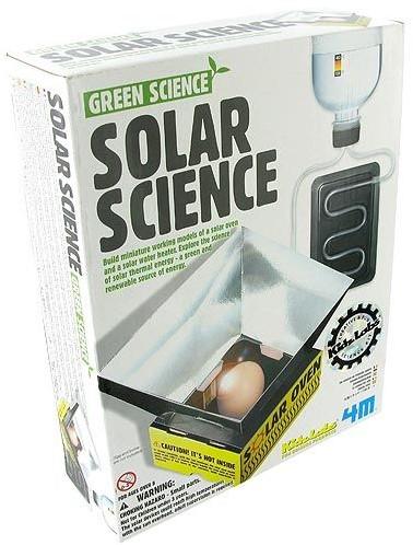 4M  Green Science wetenschapsdoos Solar science