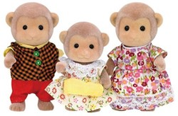 Sylvanian Families speel figuren Familie Aap - 5214