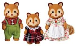 Sylvanian Families  speel figuren Familie Rode Panda - 5215