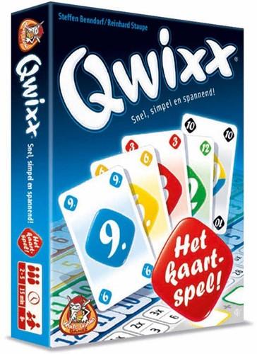 White Goblin Games Qwixx - Het Kaartspel