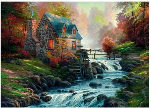 Schmidt legpuzzel Cobblestone Mill, 1000 stukjes