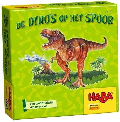 HABA Supermini Spel - De dino's op het spoor (Nederlands)