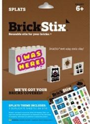 BrickStix stickers: Splats