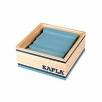 Kapla  houten bouwplankjes 40 lichtblauw-3