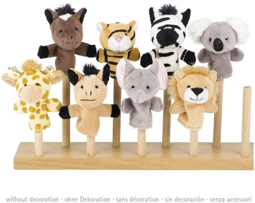 Goki Fingerpuppet, wild animals