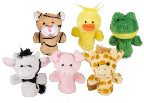 Goki Fingerpuppet set animals