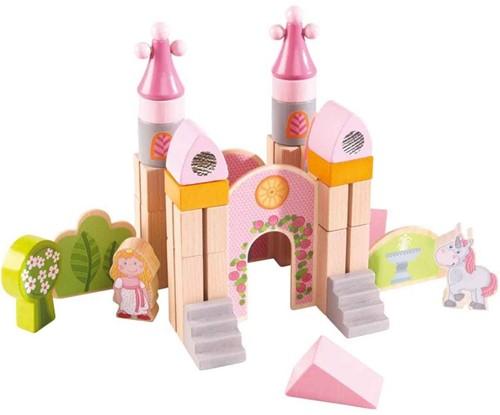 Haba  houten bouwblokken Klein sprookjesslot 301143-1