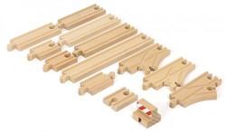 Brio  houten treinrails Starter Track Pack 33394