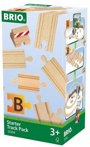 Brio  houten treinrails Starter Track Pack 33394-2