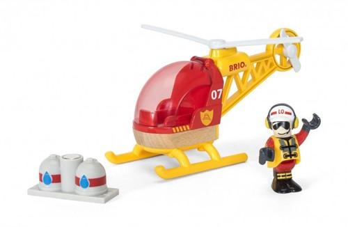 BRIO trein Brandweer helikopter 33797-1