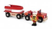 BRIO trein Brandweer boot 33859-1