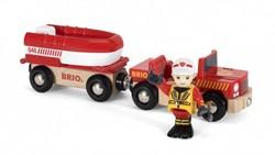 Brio  houten trein accessoire Rescue Fire Boat