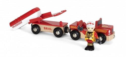 Brio  houten trein accessoire Rescue Fire Boat-2