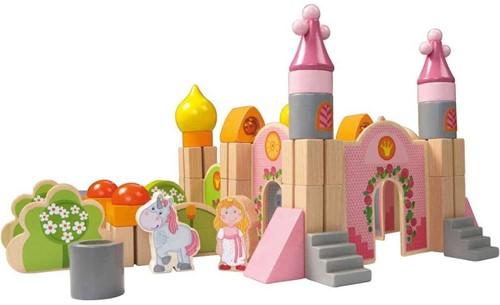 Haba  houten bouwblokken Groot sprookjesslot 301142-2