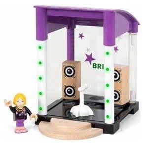 BRIO trein Podium met licht en geluidseffect 33945