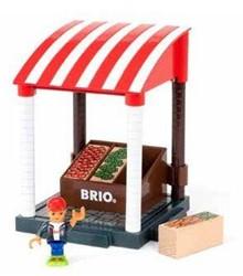 Brio  speelstad gebouw Marktkraam 33946