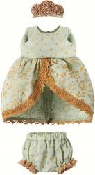Maileg Micro & Mouse, Princess dress, Mint