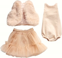 Maileg Best Friends, Ballerina dress, Powder