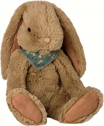 Maileg Fluffy Bunny, Large - Brown