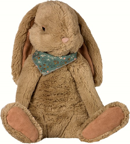 Maileg Fluffy Bunny, X-Large - Brown